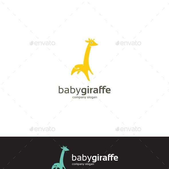 Baby Giraffe Logo