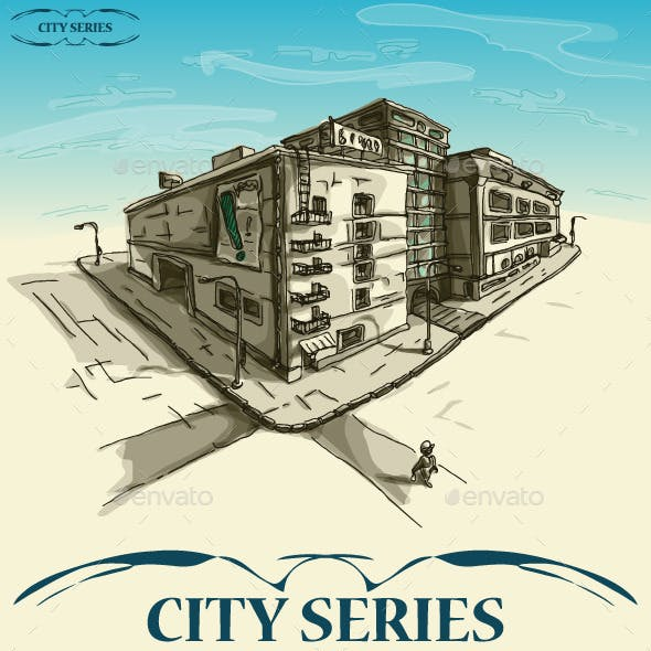 City Series Hand Drawn District
