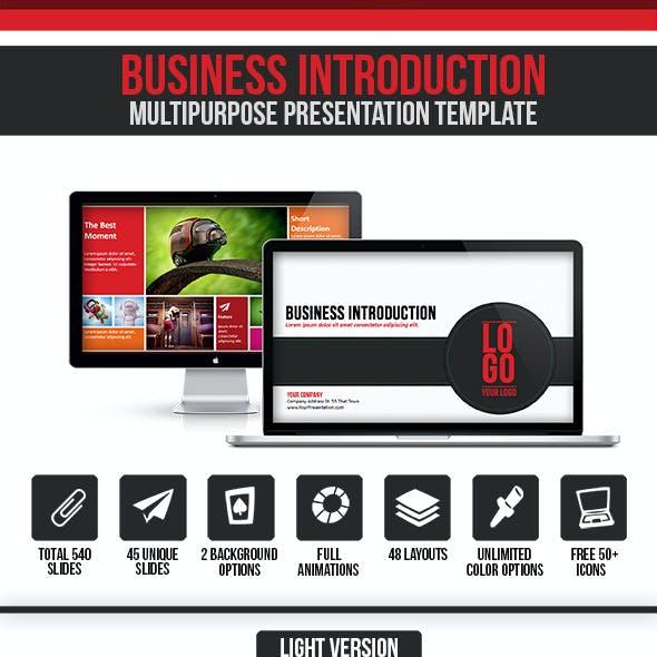 Business Introduction - Multipurpose Presentation