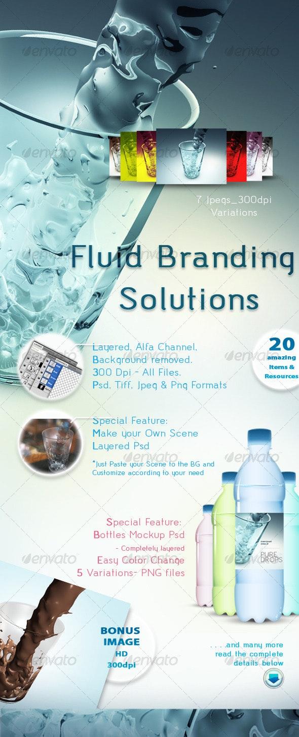 Fluid Branding Solutions - Backgrounds Graphics