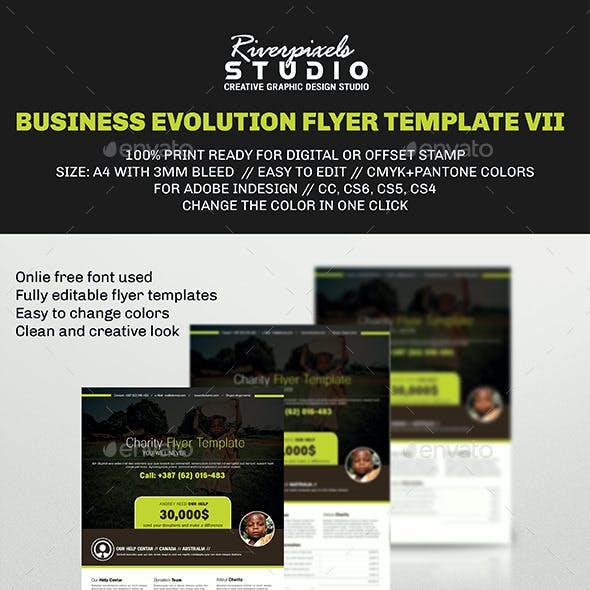 Business Evolution Flyer Template VII