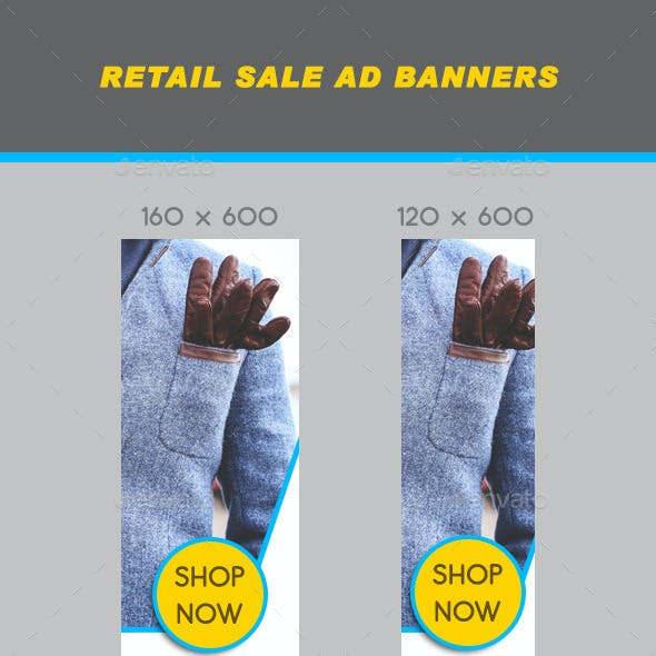 Retail Sale Ad Banners