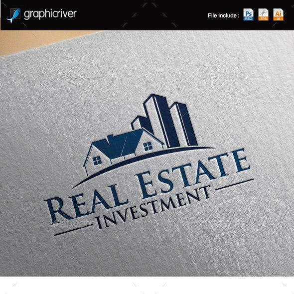 Real Estate Investment Logo Template