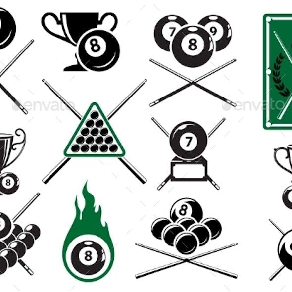 Billiard Emblems