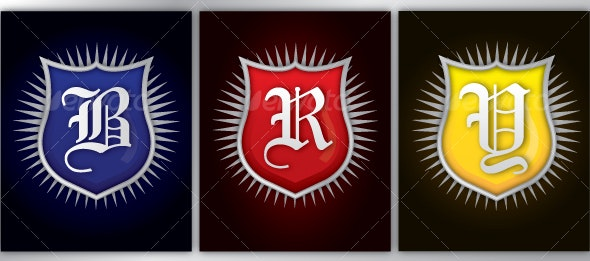 Prime Color Badges - Decorative Symbols Decorative