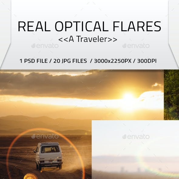 Real Optical Flares