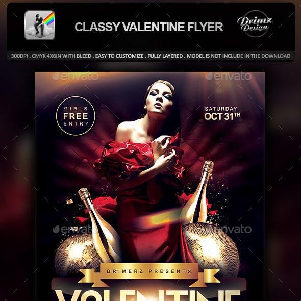 Classy Valentine Flyer