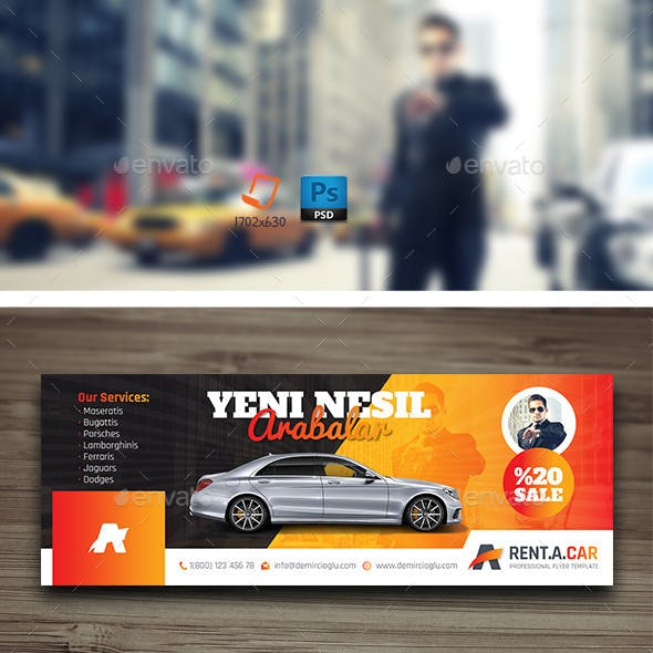 Rent A Car Cover Templates