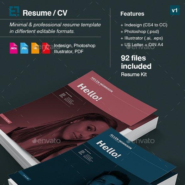 Resume - CV and Portfolio