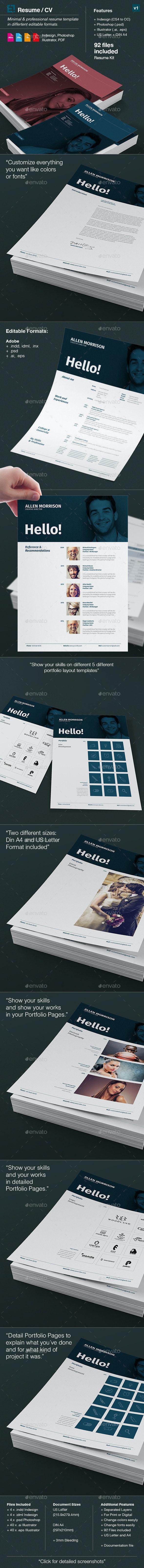 Resume - CV and Portfolio - Resumes Stationery