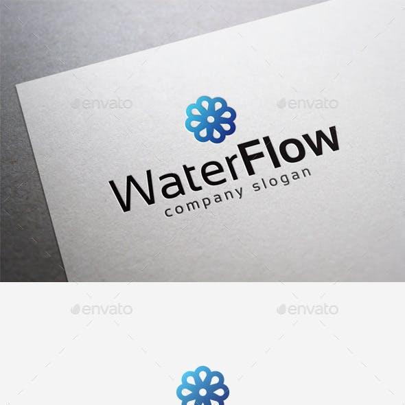 Water Flow Logo