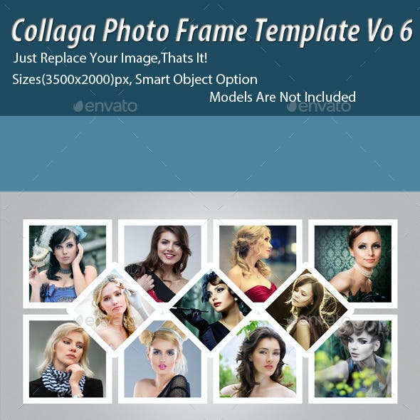 Collaga Photo Template Vo6