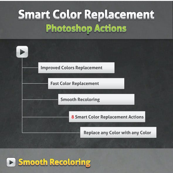 Smart Color Replacement - Actions