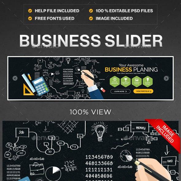 Business Slider/Hero Image