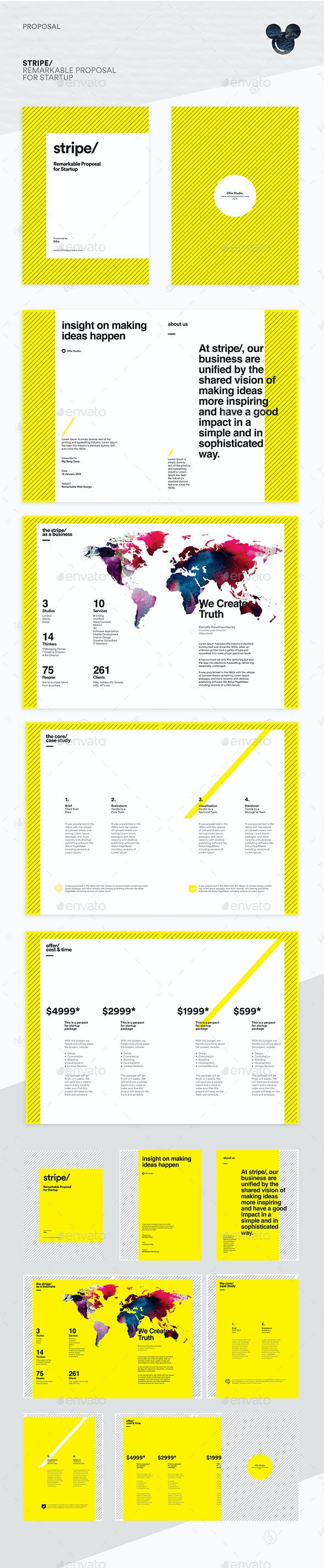 Stripe - Startup Proposal Template - Proposals & Invoices Stationery