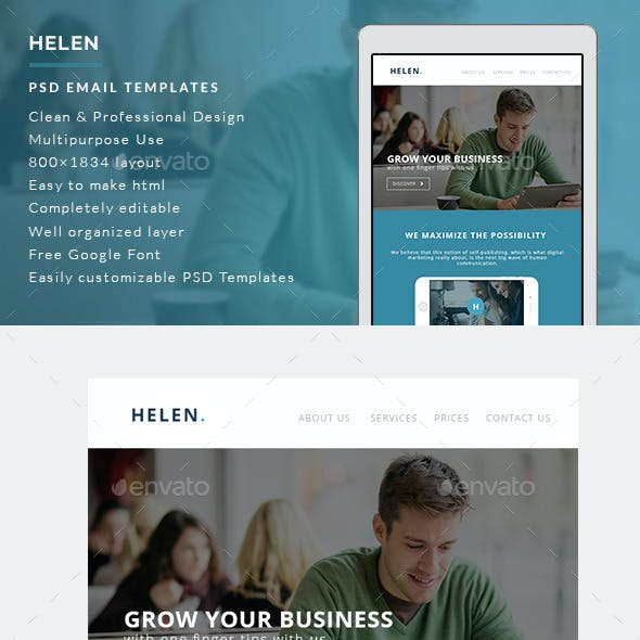 Corporate Email Templates - Helen