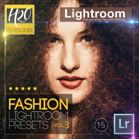 Fashion Lightroom Presets Vol. 3