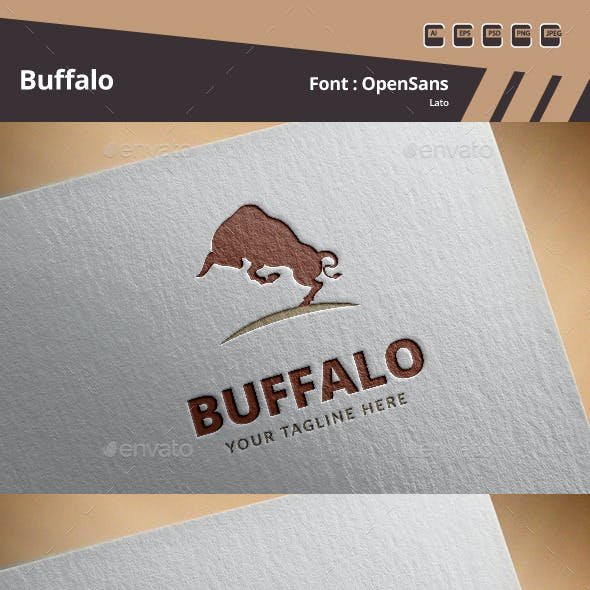 Buffalo Logo Template