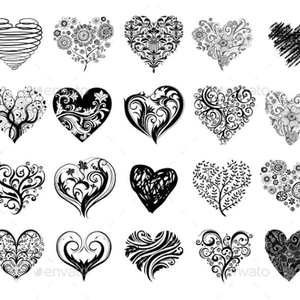 Tattoo Hearts