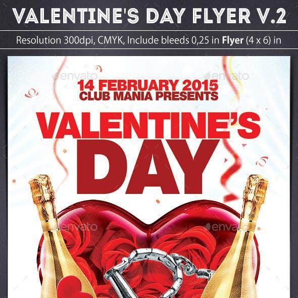 Valentine's Day Flyer v.2