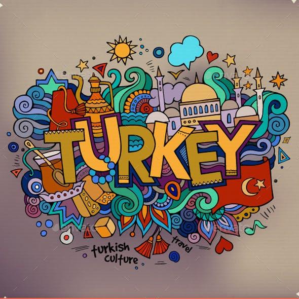 3 Turkey Doodles