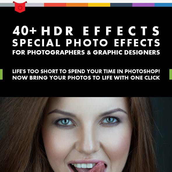 40+ HDR Effects - Photoshop Actions V.1