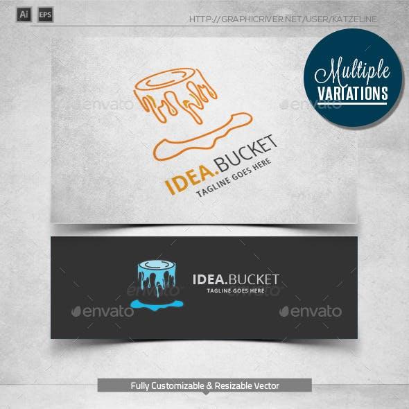 Idea Bucket - Logo Template