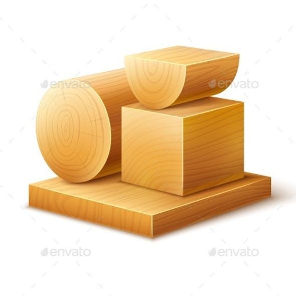 Woodworks Wooden Blocks