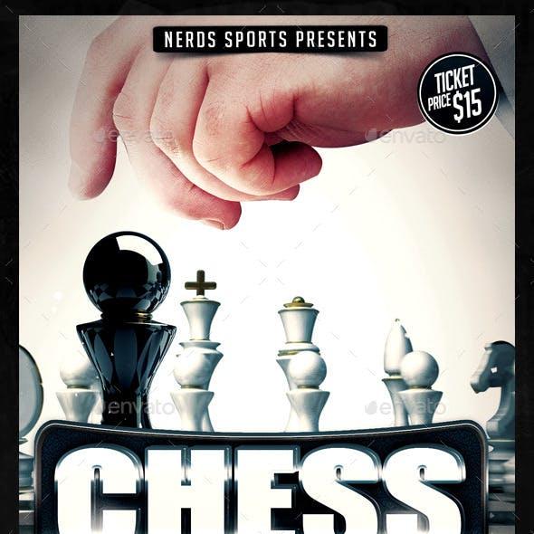 Chess 2K15 Sports Flyer