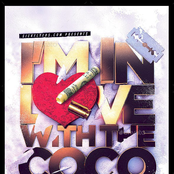 I'm in love with the Coco Flyer PSD