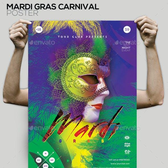 Mardi Gras Flyer/Poster