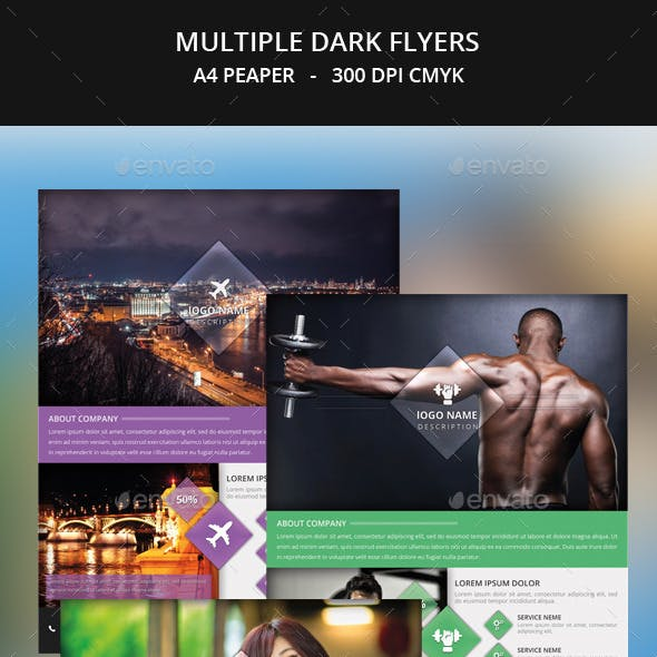 Multiple Certain Flyer Templates