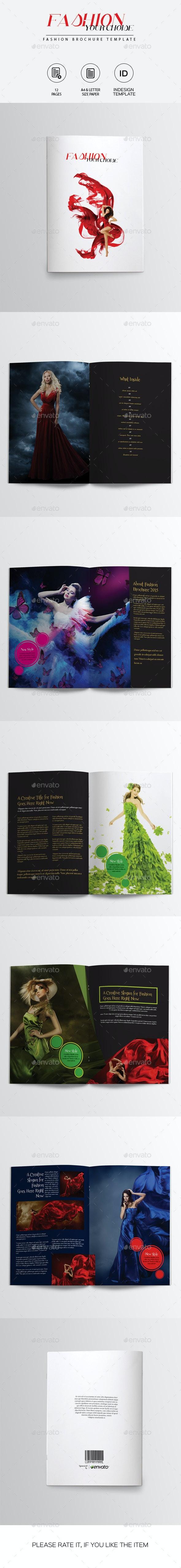 Fashion Brochure Template - Catalogs Brochures
