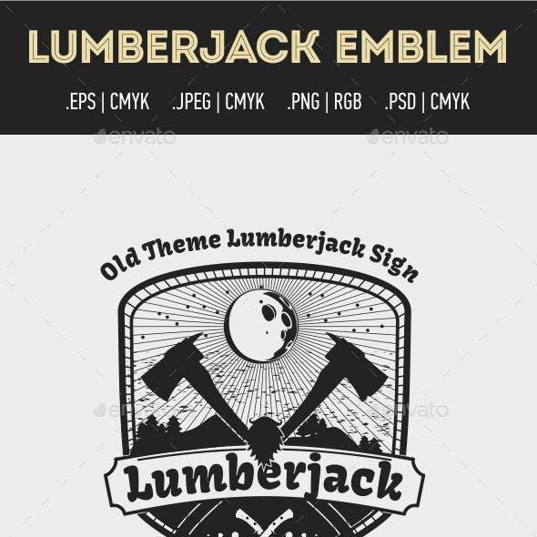 Lumberjack Emblem