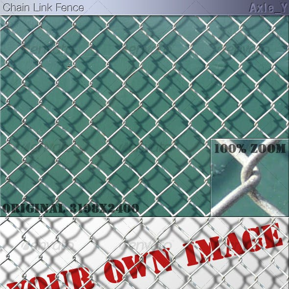 Layered Chain Link Fence