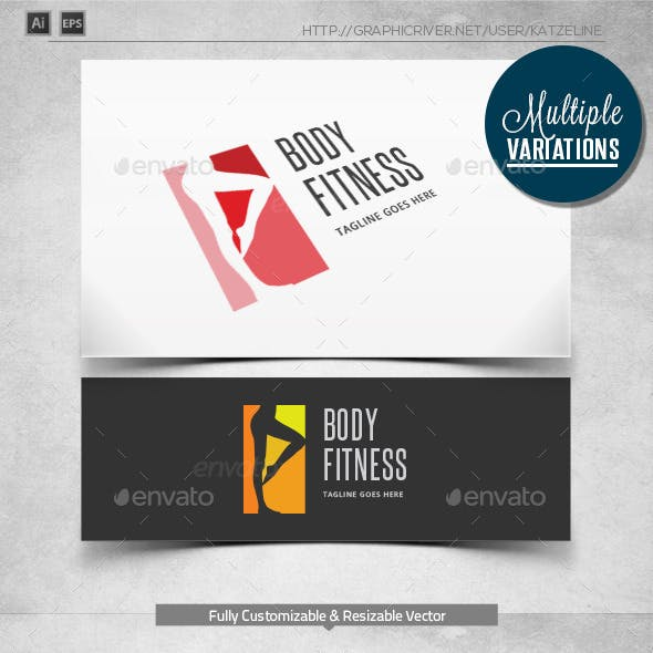 Body Fitness - Logo Template