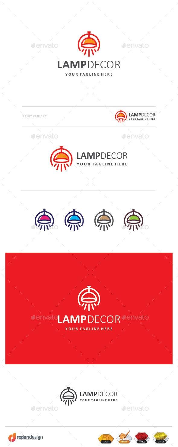 Lamp Decor Logo - Objects Logo Templates