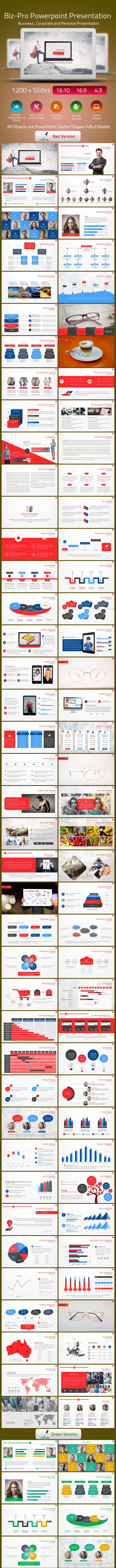 Biz-Pro Power Point Presentation - PowerPoint Templates Presentation Templates