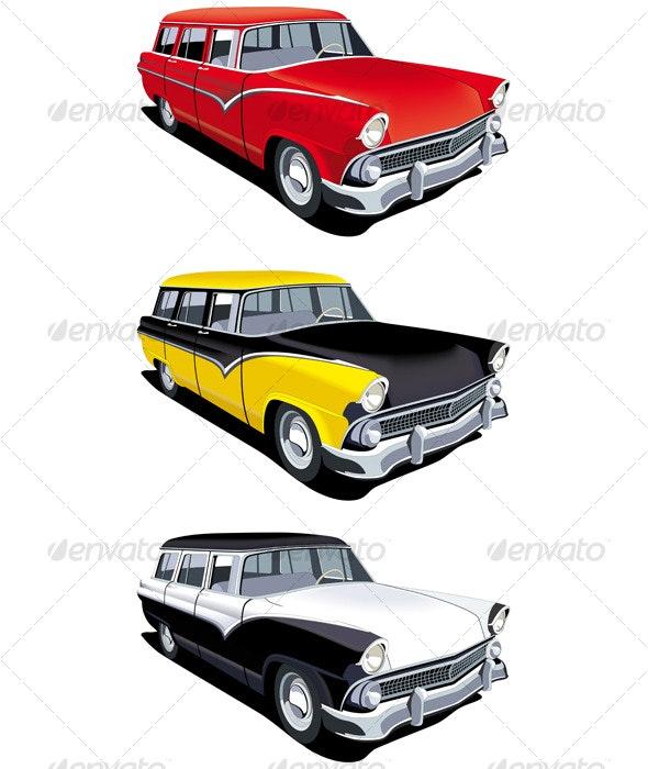 American retro station wagon - Retro Technology