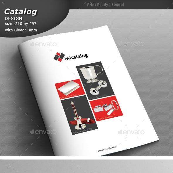 Catalog Design A4