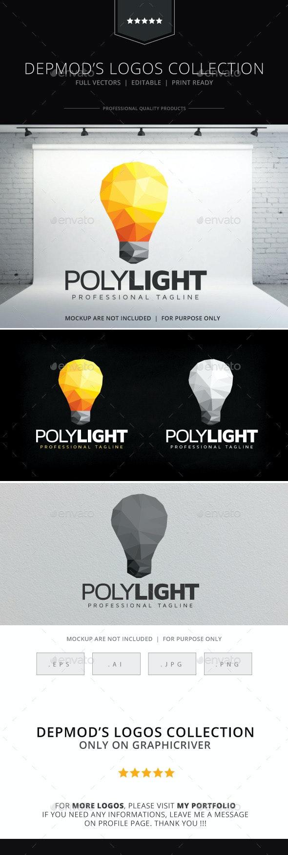 Poly Light Logo - Symbols Logo Templates