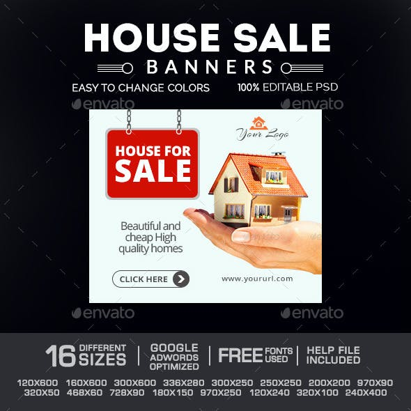 House Sale Banners