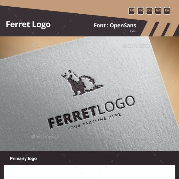 Ferret Logo Template