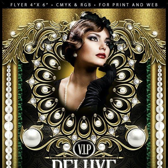 VIP Deluxe (Flyer Template 4x6)