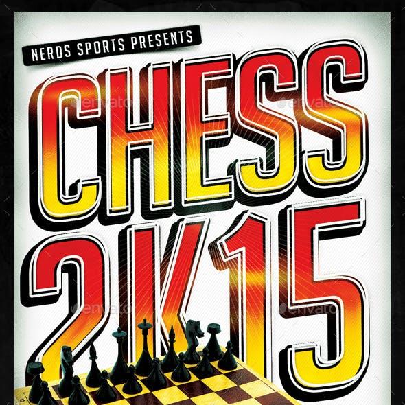 Chess 2K15 Tournament Flyer