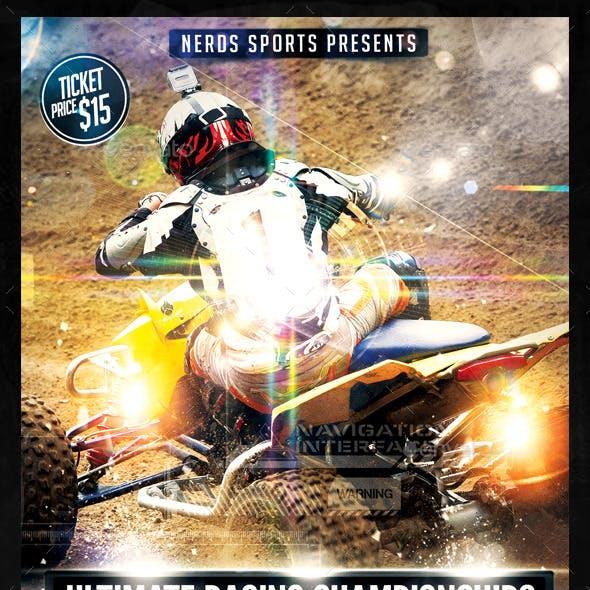 ATV 2K15 Championships Sports Flyer
