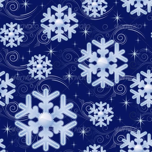 Snowflakes - Patterns Decorative