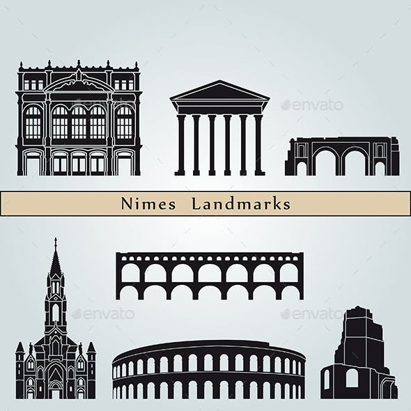 Nimes Landmarks and Monuments