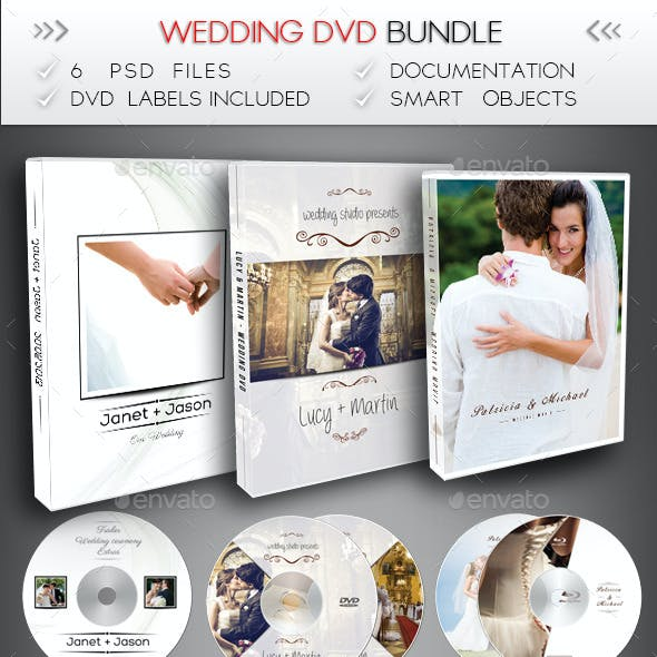Wedding DVD / Blu-Ray Bundle