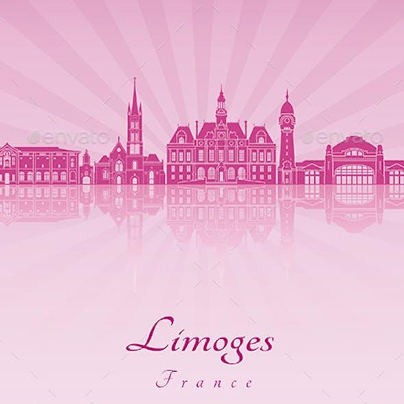 Limoges Skyline